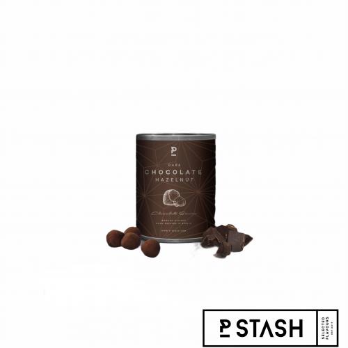 Haselnüsse Dark Chocolate Karamell und Kakao