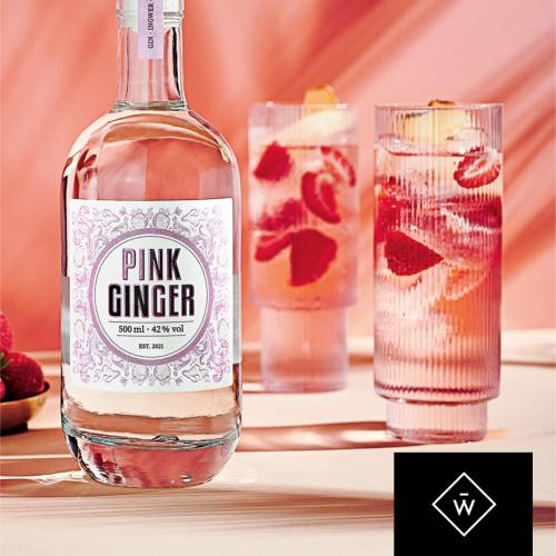 Pink Ginger Gin 500ml